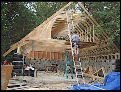 earthship barn