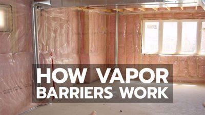 vapor barriers earthship school