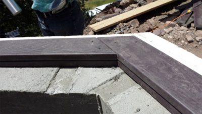 bond beam wood plates earthship